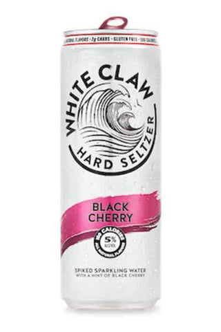 White Claw Hard Seltzer Black Cherry - 6pk Can