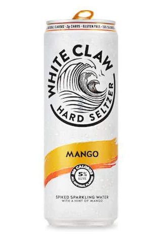 White Claw Hard Seltzer Mango - 6pk Can