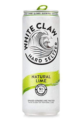 White Claw Hard Seltzer Lime - 6pk Can