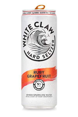 White Claw Hard Seltzer Grapefruit - 6pk Can