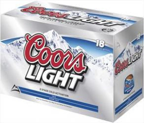 Coors Light 18 Pk Bottles