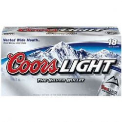 Coors Light 18 Pk Can
