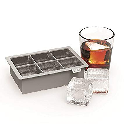 True Colossal Ice Cube Tray in Grey