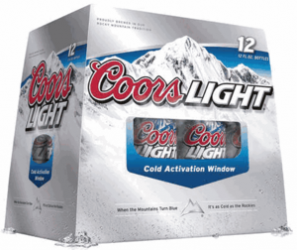 Coors Light 12Oz 12Pk Bottles