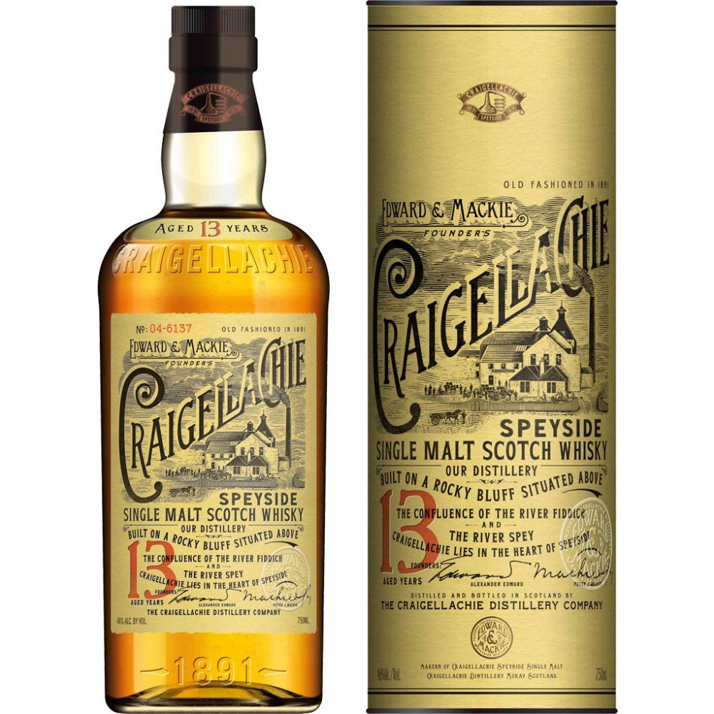 Craigllachie 13 Yr Single Malt Scotch Whiskey