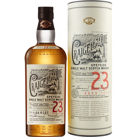 Craigellachie 23Yr Scotch Whiskey