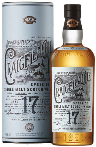 Craigellachie 17yr Scotch Whiskey