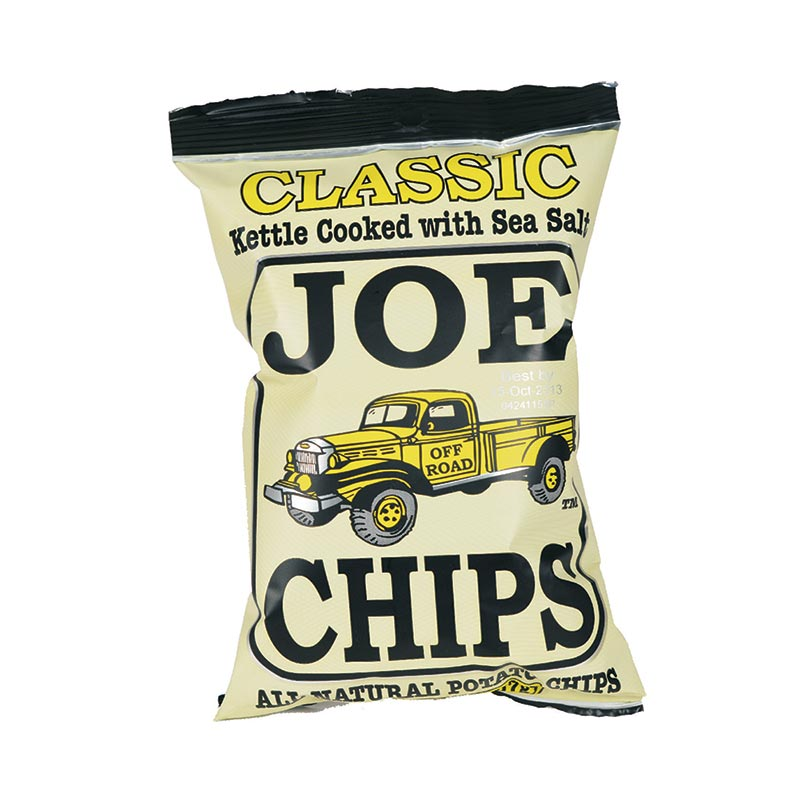 Joe Chips Classic With Sea Salt 2 Oz