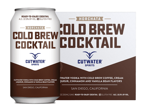 Cutwater Cold Brew Cocktail - 4pk Cans