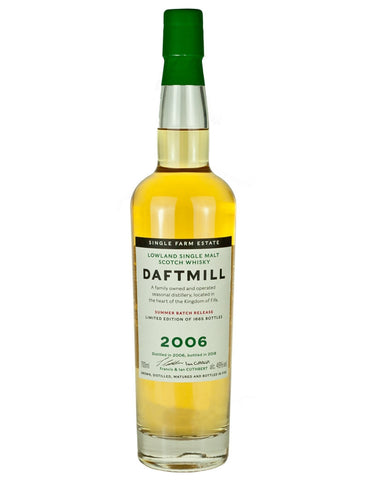 Daftmill Summer Release 2006 Single Malt Scotch Whiskey