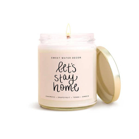 Sweet Water Decor Candle, Let's Stay Home