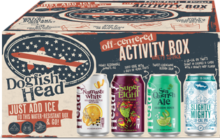 Dogfish Head Off-Centered Summer Activity Box (Cooler Pack) 12PK Cans