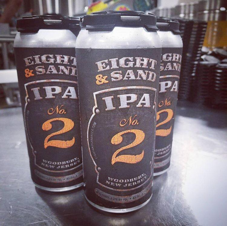 Eight and Sand IPA No2 4pk Can