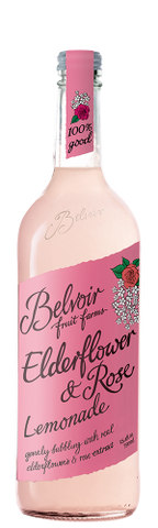 Belvoir Organic Elderflower Lemonade & Rose 750ml