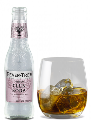 Fever Tree Premium Club Soda - 4 pack