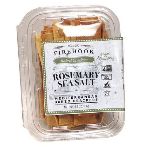 Firehook Crackers, Rosemary Sea Salt