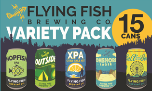 Flying Fish Variety Pack - 15pk Cans