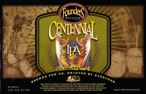 Founders Centennial Ipa 12Pk Can