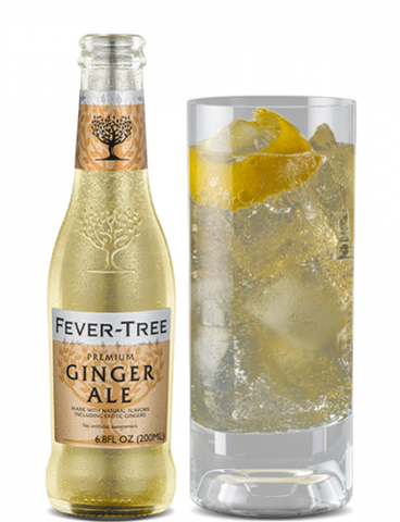 Fever Tree Ginger Ale - 4pk Bottles