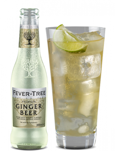 Fever Tree Ginger Beer - 4pk Bottles