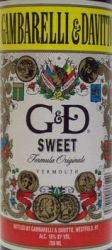 G&D Sweet Vermouth