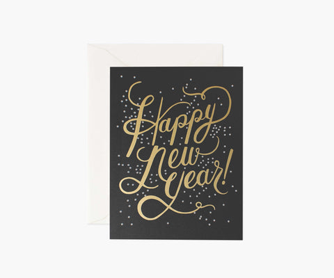 Rifle Paper Co. Shimmering New Year Card