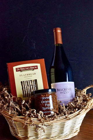 Gift Basket One bottle Red