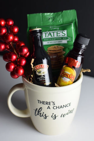 Gift Basket Coffee Drinker
