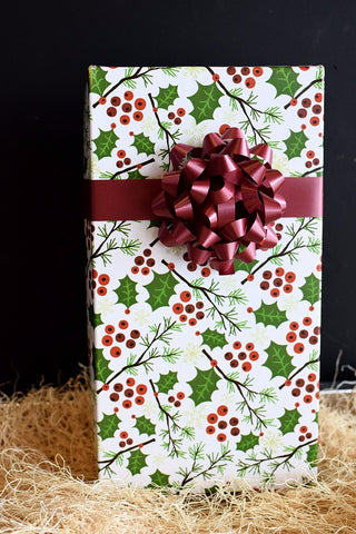 Wine Gift Box Berry Swirl