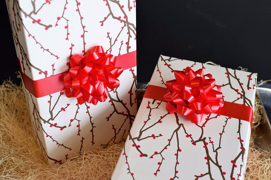 Wine Gift Box Boho Branches