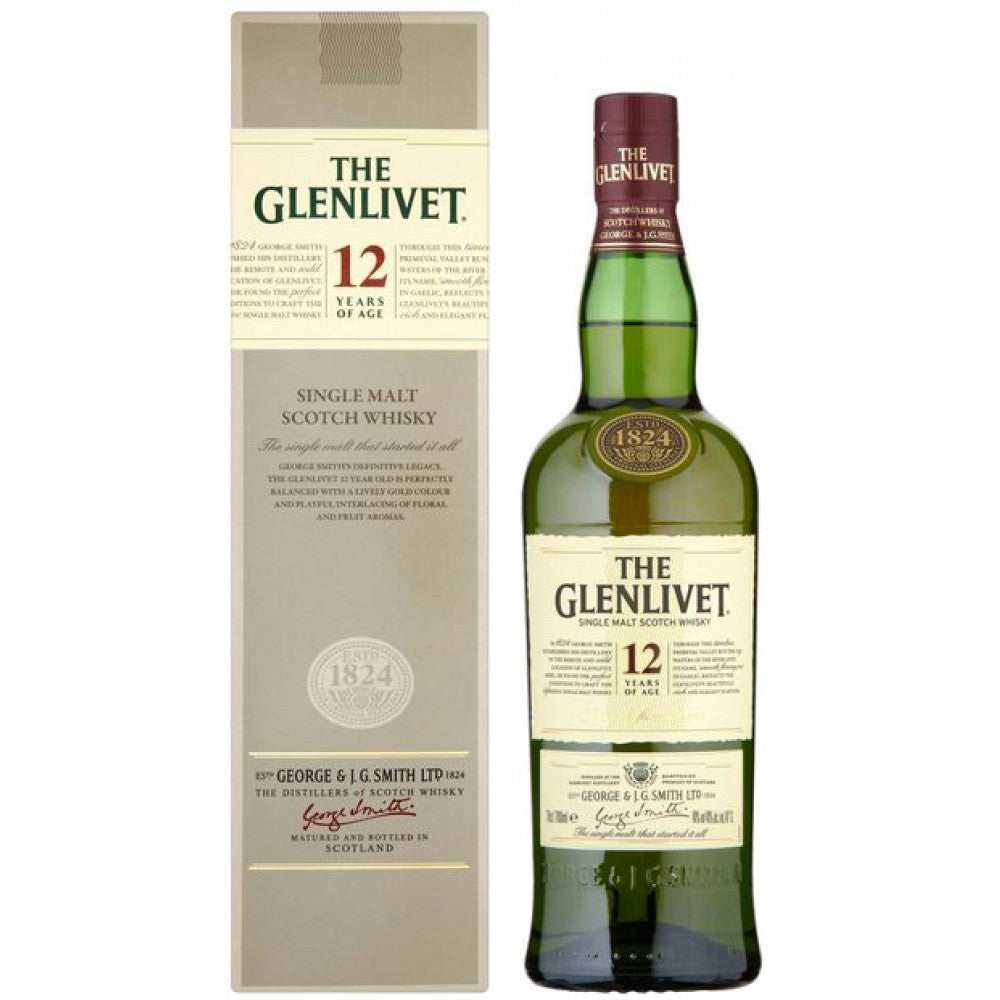 Glenlivet 12yr Scotch Whiskey