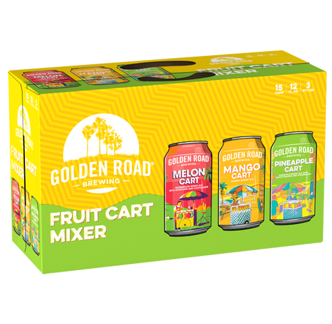 Golden Road Fruit Cart Variety Pack (15PK Cans)