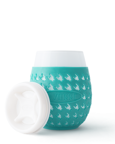 GOVERRE Portable Stemless Wine Glass (Turquoise Blue)