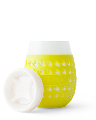 GOVERRE Portable Stemless Wine Glass (Yellow)