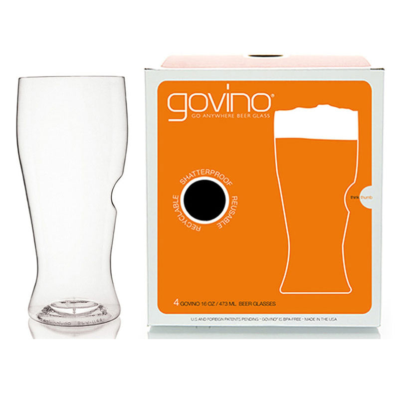 Govino Shatterproof 16oz Beer Glasses - 4pk