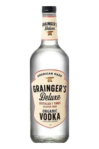 Graingers Organic Vodka 750mL