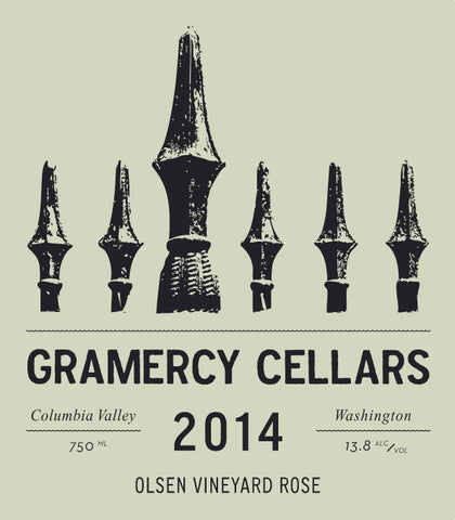 Gramercy Cellars Olsen Vieyards Rose