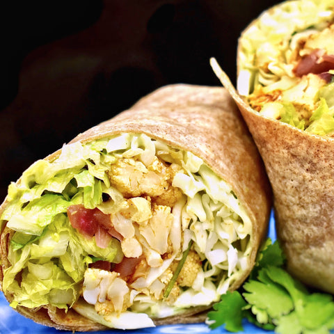 Cauliflower Taco Wrap