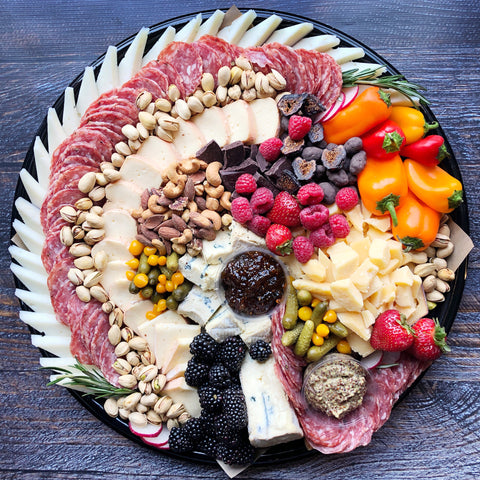 The Red Wine Cheese Plate - Catering