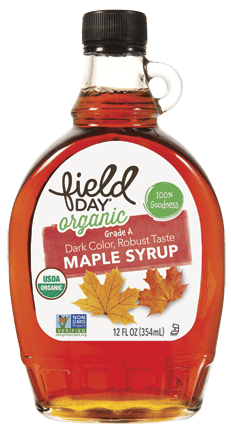 Field Day Grade A Organic Maple Syrup