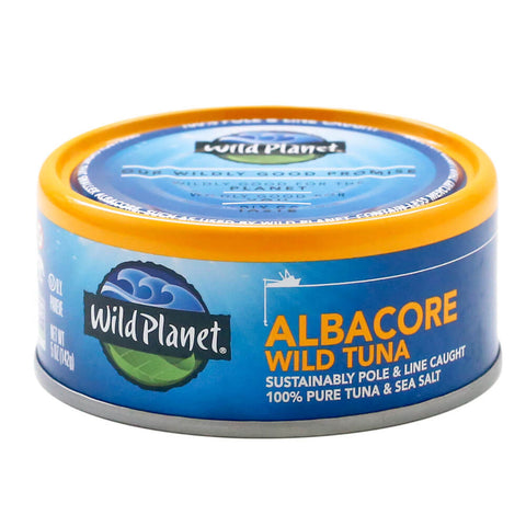Wild Planet Albacore Wild Tuna in Water