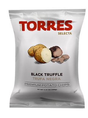 Torres Black Truffle Potato Chips