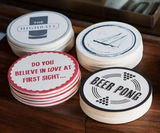 Izola Coasters, Pick Up Lines (Set of 6)