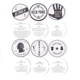 Izola Coasters, Drinking Games (Set of 6)