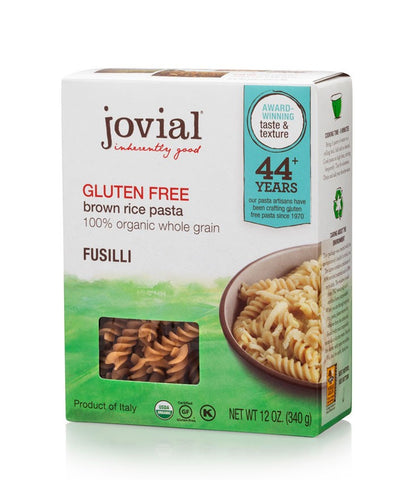 Jovial Brown Rice Fusilli