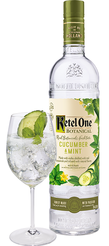 Ketel One Vodka Botanicals Cucumber and Mint