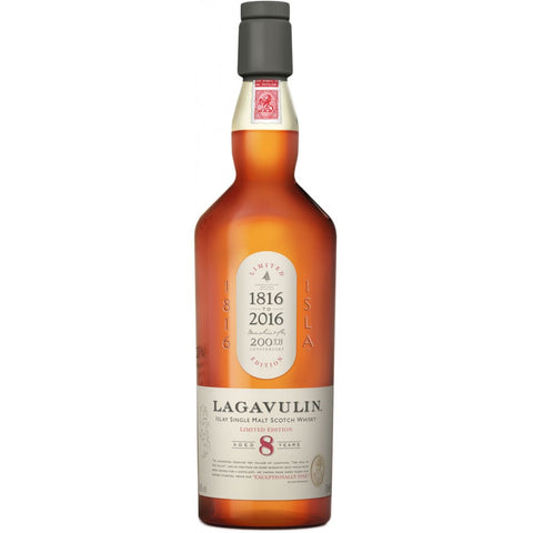 Lagavulin Single Malt Scotch Whiskey 8yr