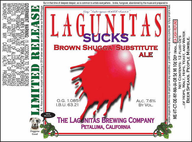 Lagunitas Sucks 32Oz