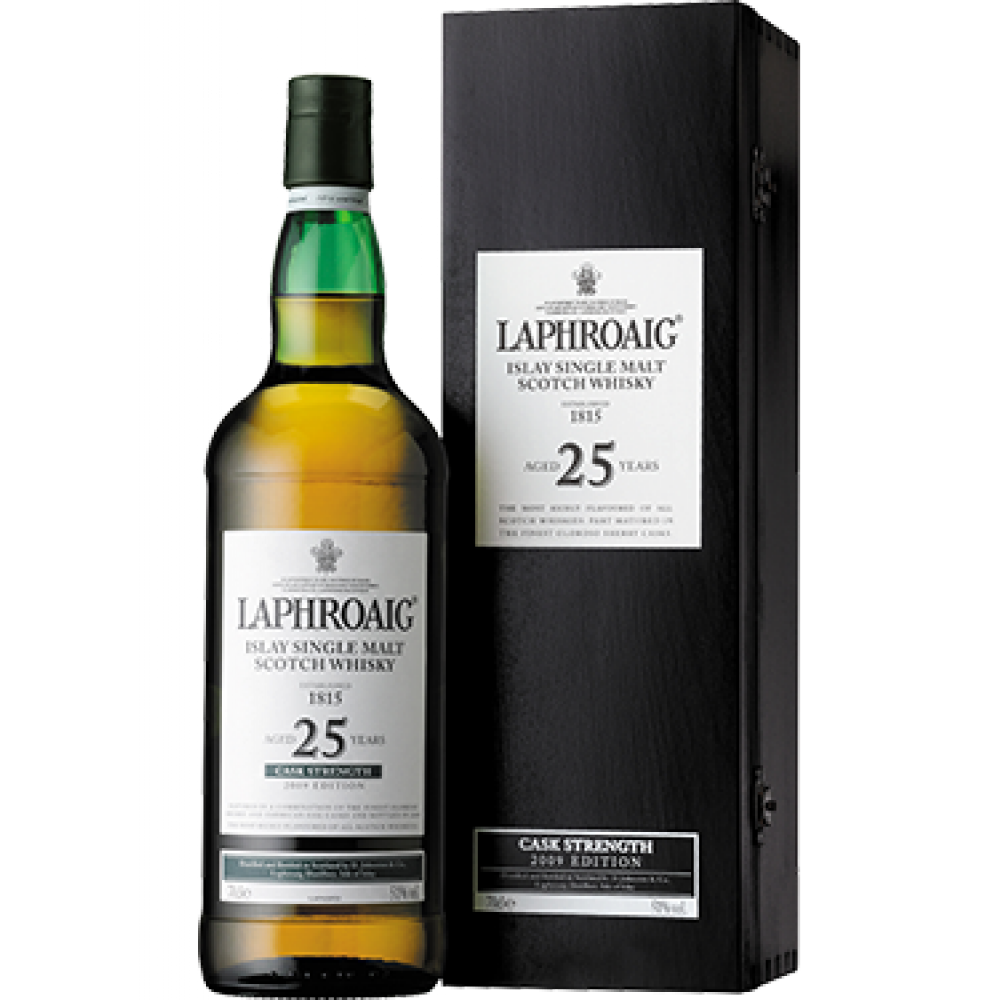 Laphroaig 25yr Single Malt Whiskey