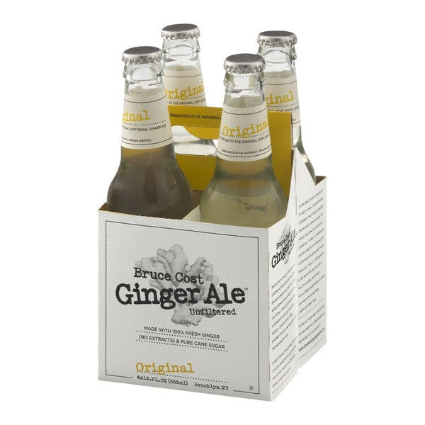 Bruce Cost Ginger Ale 4-Pack